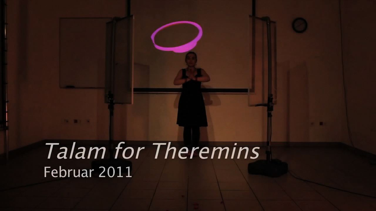 Talam for Theremins